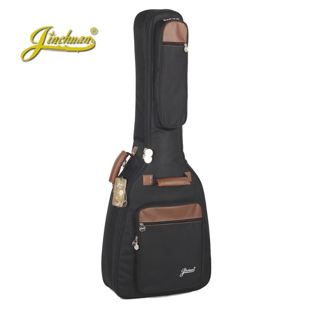 Top quality professional portable durable 3839 40 41 acoustic guitar case folk balladry gitar gig bag padded soft backpack cover