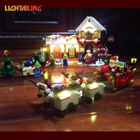 LED Light Up Kit For Building Blocks Winter Village Post Office City Advent Calendar Christmas