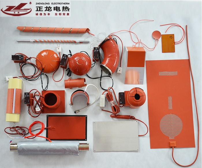 Customized Made Silicone Rubber Heating Tape/Tailored Shape, talk with us for the exact price tailored