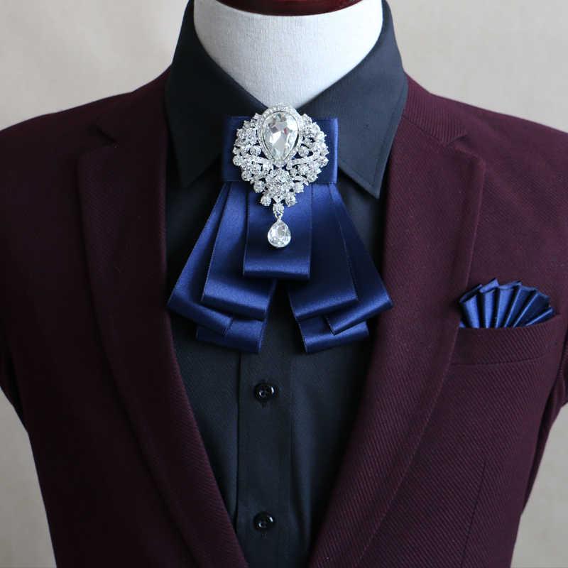送料無料ファッション男性メンズ2016結婚式新郎花婿の付添人デュアル目的スーツのポケットタオルネクタイハンカチ胸ナプキン頭飾り