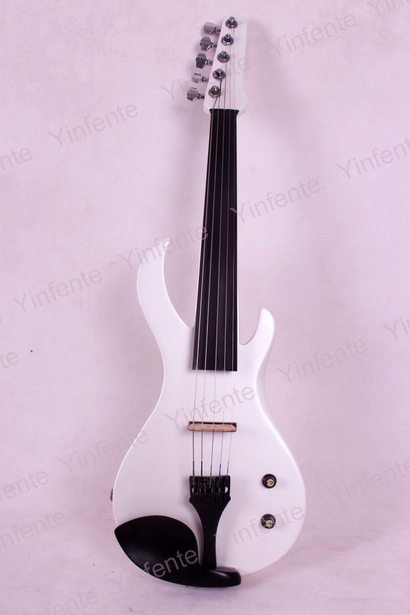 Electric Violin Powerful Sound Guitar Shape Solid wood Big jack 5 String 4/4 3 4 upright double bass high quality powerful sound solid wood 5 string