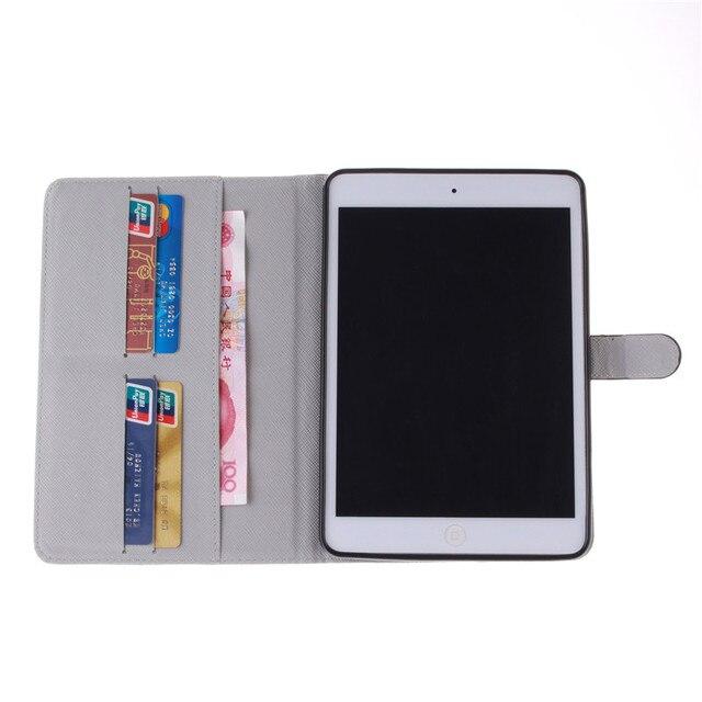 Color Mix Pu Leather Flip Case For Apple iPad Mini 1 2 3