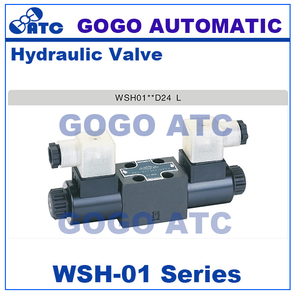 High quality WSH 01 series directional valve 24v 12v dc 110v 220v ac high pressure hydraulic
