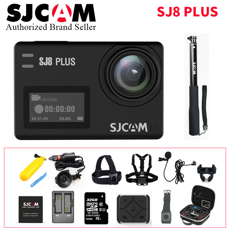 NEW SJCAM SJ8 Series SJ8 Plus 1290P 4K Action Camera WIFI Remote Control Waterproof Sports DV цена