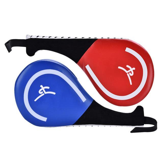 Boxing Training Pads Taekwondo Hand Racket Kick Takwondo Target Punching Pad Karate Training Kickboxing Paddle Boxing Equipment