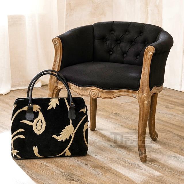 Français Chêne Rustique Fauteuil Chaises Chaise Café Pour Faire Le - Fauteuil rustique