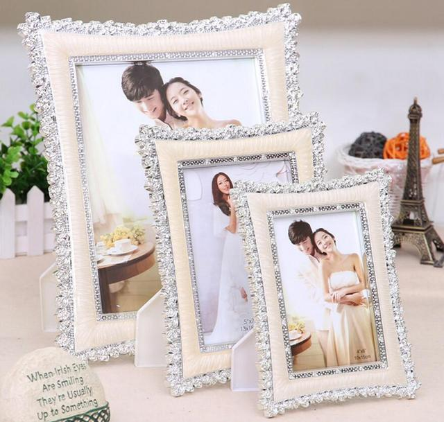 High quality picture frame classic Europea style wedding photo frame Valentine 's Day wedding gift Pendulum frame 17E13D50