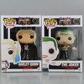 Funko POP DC Esquadrão Suicida Harley Quinn & Joker Action Figure Brinquedos 10 cm Em Caixa