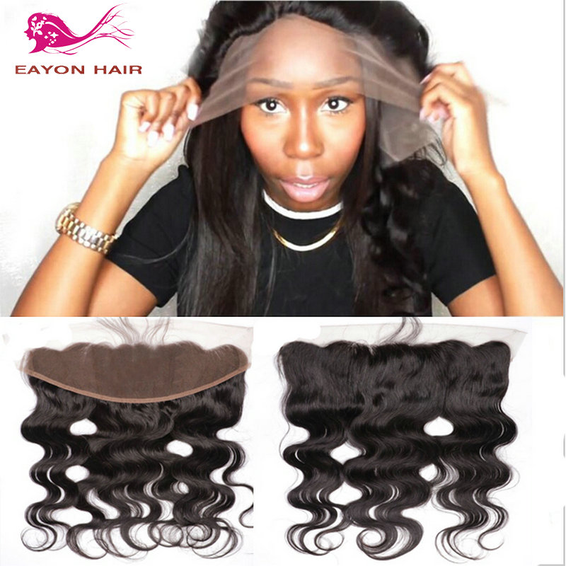 Best lace frontals Malaysian lace frontal hair pieces Middle 3 Part lace  frontal with baby hair ear to ear lace frontal closure on Aliexpress.com  4caa2ad2992a
