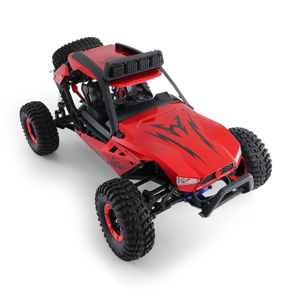 JJRC JJRC Q46 112 2.4G RC Car 4WD 45kmh High Speed Rock Crawler Desert Buggy Cars RTR for Kids Children Gifts RC Toys (20)