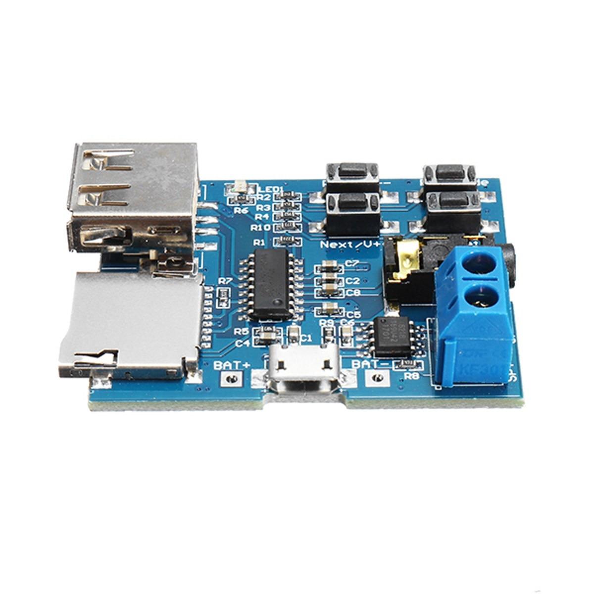 Leory 3/5/10 шт. USB MP3 без потерь модуль с усилителем Mp3 неразрушающего декодер доска карты памяти у диск декодирования плеер 3.7-5.5 В