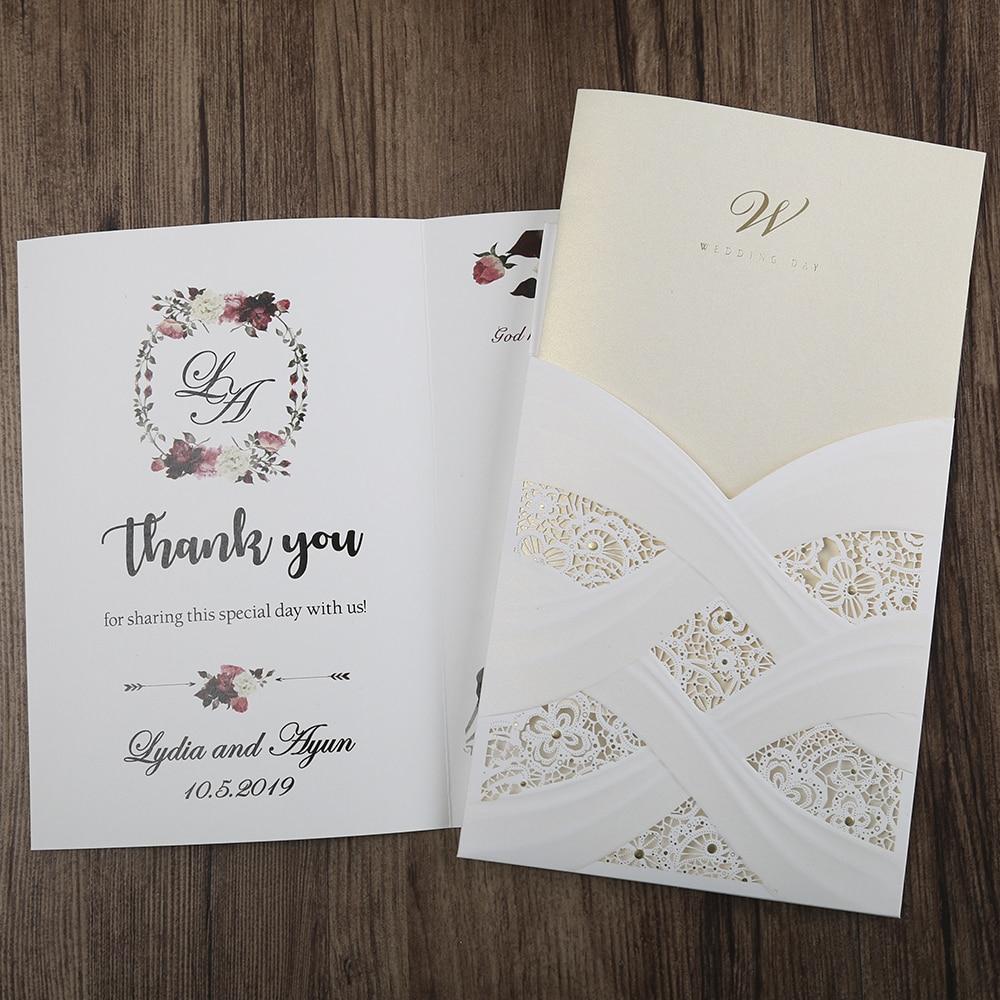 100st hete mode laser gesneden witte holle flora bruiloft - Feestversiering en feestartikelen - Foto 2