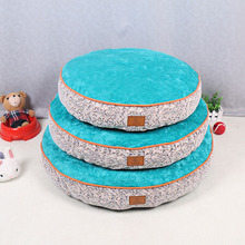 New Round Soft Warm Mat For Dogs Pet Cushion Cats Dog Bed Kennel Pet Pads Puppy Sofa Soft Kennel Mat House