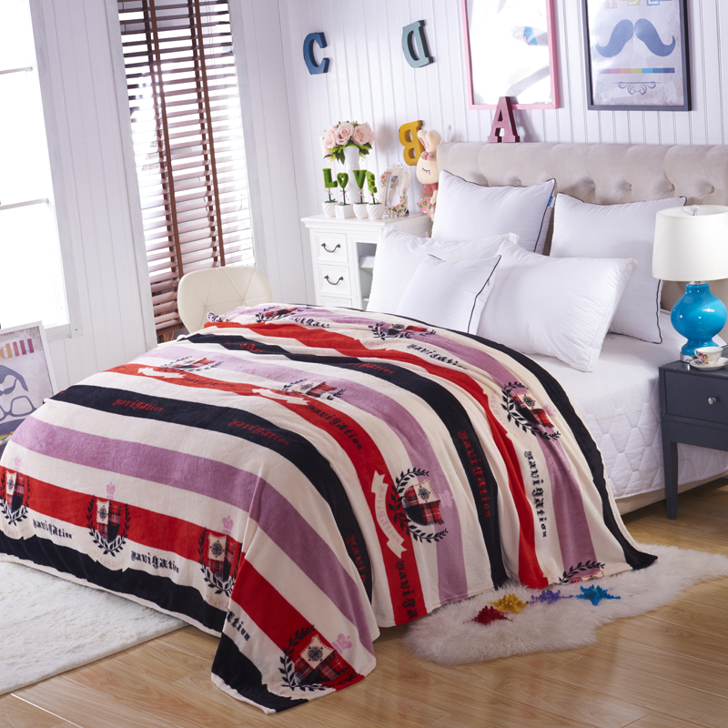whole Sale Sleep Wish Plaids and Bedspreads to Sofa Travel Throw Blanket Fleece Bedding Throws on Sofa/Bed/Car Portable Plaids