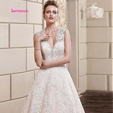 LEIYINXIANG Wedding Dress Bride Gown A-Line