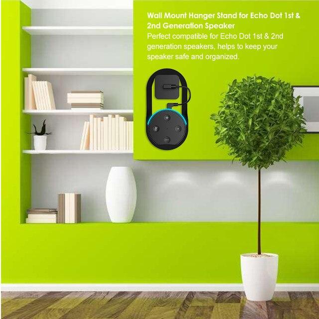 Online Shop Wand Montieren Aufhanger Stand Fur Amazon Echo Dot 1st