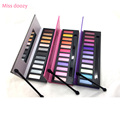Miss doozy Eyeshadow Shadow Pallete Glitter Balm Naked Palette Glitter Brow Cosmetic Makeup Natural Matte Gift Pro Nude 12 Color