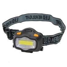 Portable Outdoor Lighting Headlamp 12 Mini COB LED Headlight for Camping Hiking Fishing Reading Soft White Light Flash Headlamp(China)