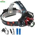 10W Mini IR Sensor Headlight Induction Rechargeable Headlamp tactical 3 mode T6 head Flashlight Head Torch+18650 battery charger