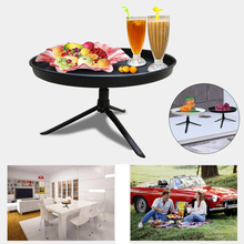 Portable Fruit Plate Bracket Compote Household Outdoor Picnic Food Plate  Fruit Plates Stand Pastry Tray Candy Dishes