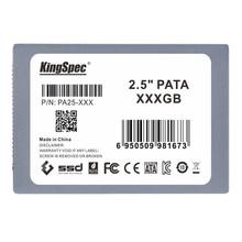 KingSpec 128 ГБ 2.5-дюймовый PATA/IDE Твердотельный диск (MLC флэш) SM2236 контроллер Серый