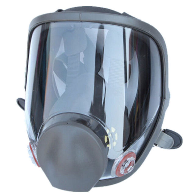 Large Size Full Face Safety Gas Mask Respirator