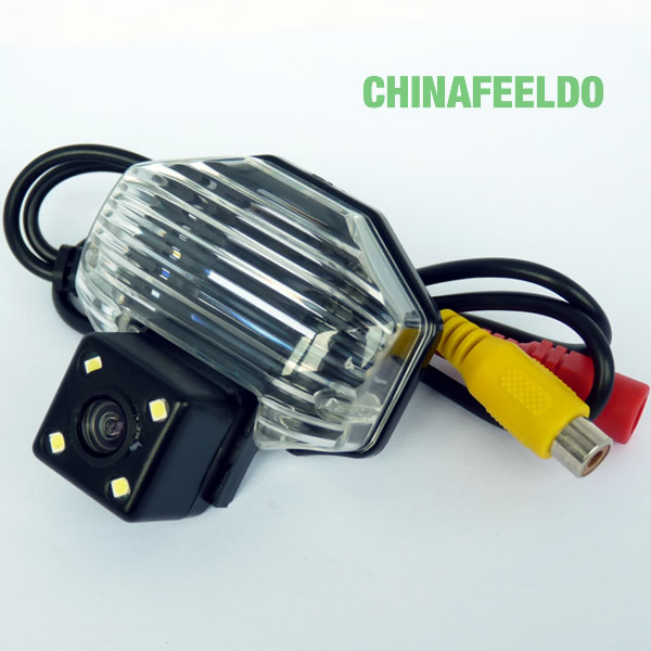 CCD Reverse Car Camera for Toyota Corolla 2009~2013 With 4LED lights #J-4053