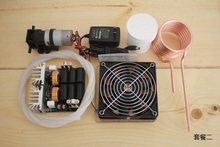 DHL доставка Стальной тигель ZVS высокочастотный индукционный нагреватель машина