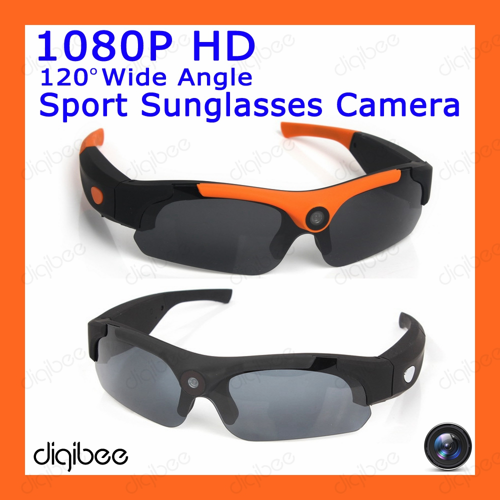 New Cool Fashion Wide Angle HD 1080P Camera Polarized Sunglasses Outdoor Cycling Sport Smart Glasses Wearable Camera Mini DV DVR aoron classic polarized sunglasses men brand designer hd goggle men s integrated eyewear sun glasses uv400 2017 new ao 12