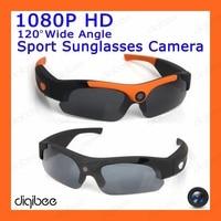 New Cool Fashion Wide Angle HD 1080P Camera Polarized Sunglasses Outdoor Cycling Sport Smart Glasses Wearable Camera Mini DV DVR