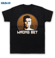 GILDAN 100 Cotton O Neck Printed T Shirt AWOL T Shirt Jean Claude Van Damme For