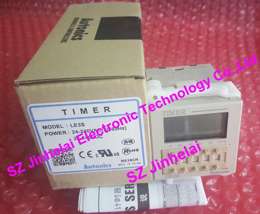 LE3S New and original Autonics Timer relay 24-240VAC 24-240VDC цены