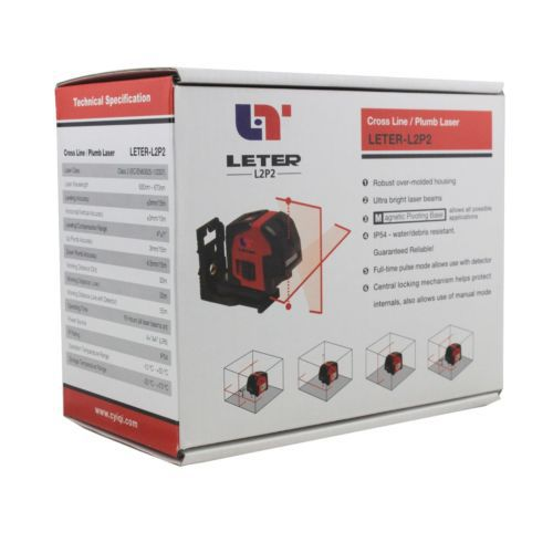 New LETER L2P2 Laser Level Cross Line laser line Plumb laser цены