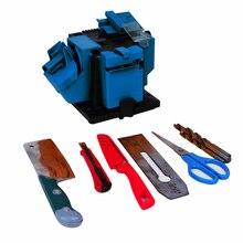 96 Вт Leiming электрическая точилка для ножей Многофункциональный Точилка работает для ножей ножниц, рубанка железа, сверла