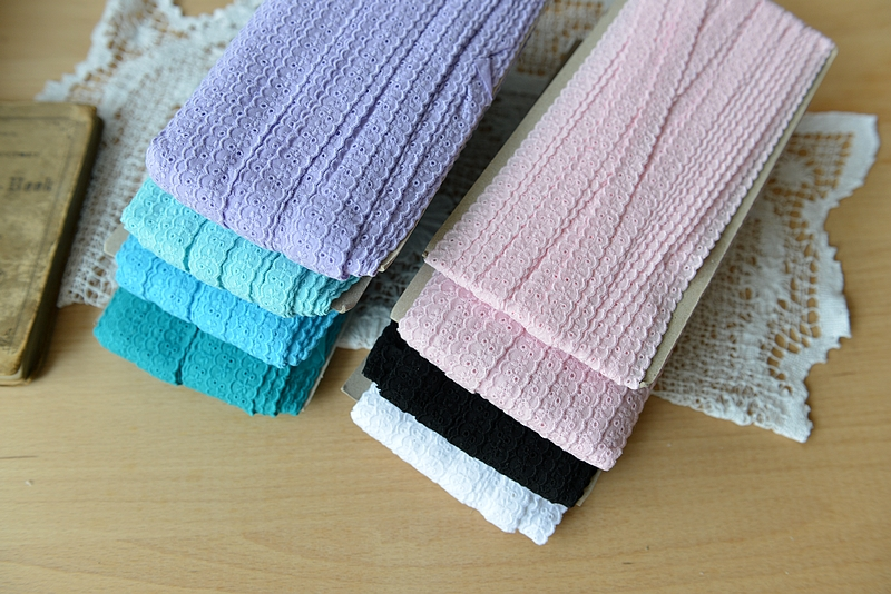 Apparel Sewing & Fabric 10m/lot 15mm Pink Blue Embroidery Cotton Two Sides Lace For Clothing Curtain Sofa Decorative Diy Accessories Trim Ribbon1353 Online Shop