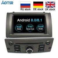 Android 8.0 Car DVD CD Player for Peugeot 407 2004 2010 Car GPS Satnav car stereo unit GPS navigation multimedia