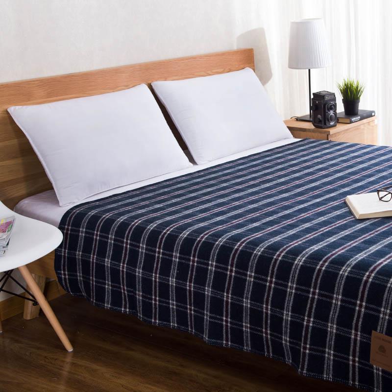 Осень Зима Высокое качество 100% шерсть плед Япония стильный домашний текстиль толстый диван автомобиля Декоративные Постельные Принадлежн... - 4