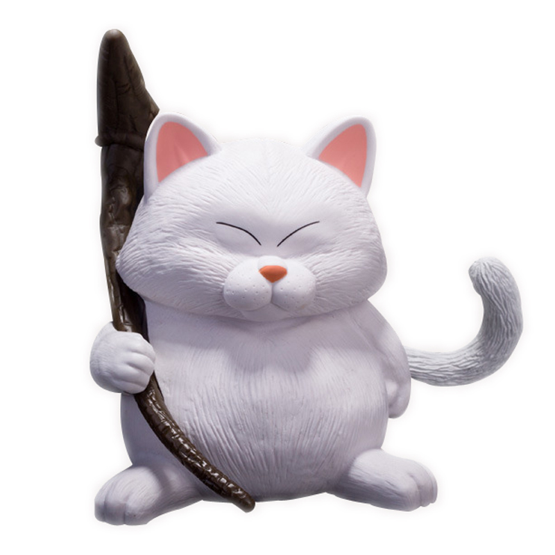 ZXZ 14cm Japanese Anime Dragon Ball Cat Karin PVC Action Figure Collection Decoration Toy Doll Model