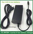 12.6V3A/12.6 V 3A inteligencia batería li-ion cargador de batería para 3 Series 12 V paquete de baterías de polímero de litio de buena calidad
