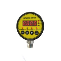 80mm S800 Digital pressure controller automatic electronic pressure gauge switch water or air manometer default M20*1.5 220V