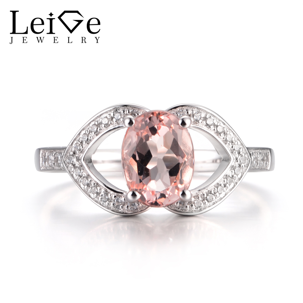 jewelry in shaped nl oval stone ring colored rose rg gemstone pink rings engagement halo with morganite gold pave