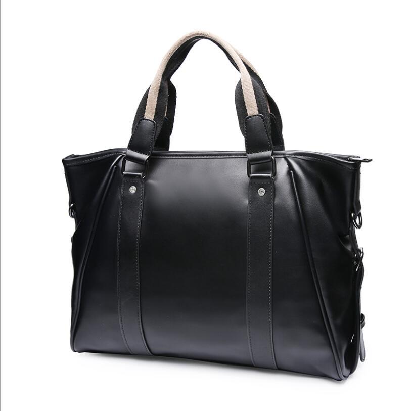 Trend New Korean Handbag Large Capacity Business Casual Shoulder Bag Messenger Bag Men's Brieffcase Office Bags