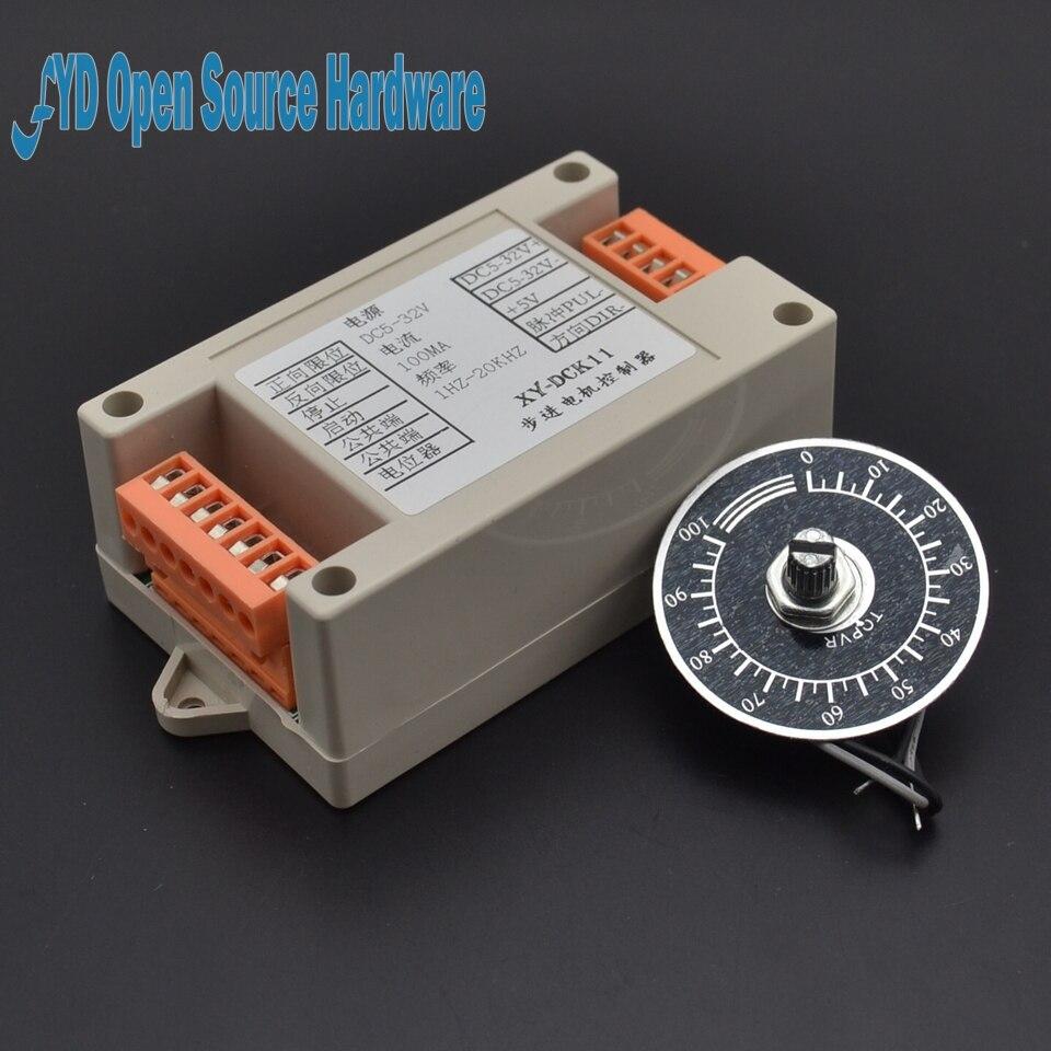 Industrial type dkc 1a stepper motor controller pulse for Stepper motor pulse generator
