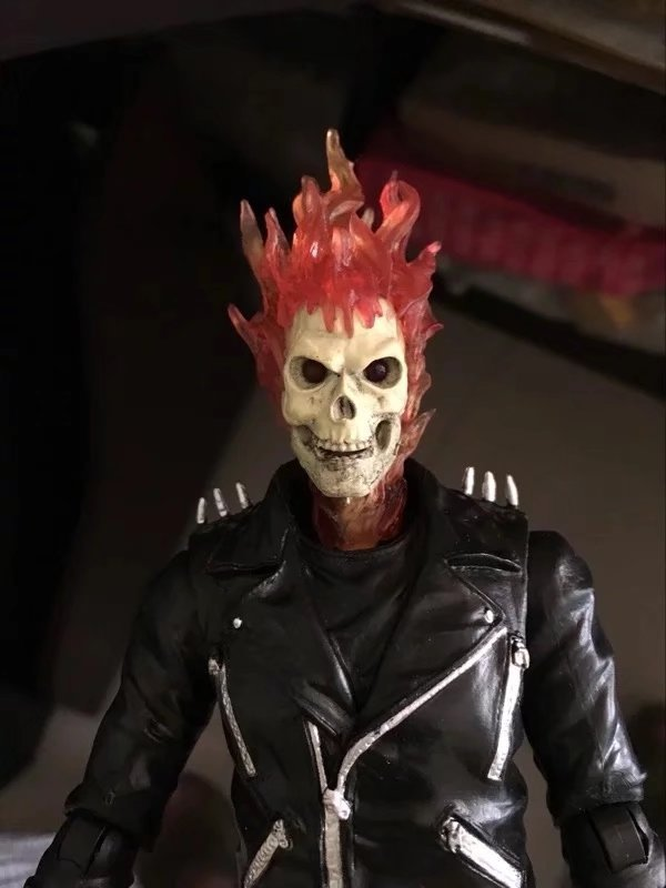 23cm marvel ghost rider johnny blaze figura 02
