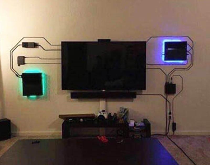Wall Stand Mount PS4 Controller Joystick Dock PS4 PRO Bracket PS4 Slim Game 3D Print Plastic Storage Holder Rack Handle Quality