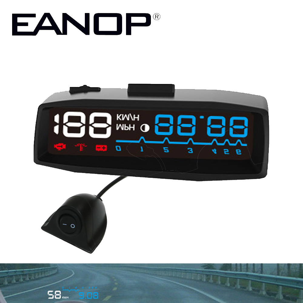 Eanop Car Hud Head Up Display Hud Car Windshield Obd Ii