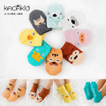 New Cartoon Cute baby socks animal Kid Cloting Accessories Baby Socks Cotton Anti Slip Infant Socks For Boy Girl 0 to 2 Years