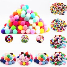 Mini Pom-Pom-Balls Pompoms Craft Home-Decoration-Supplies Mixed-Color Soft Wedding DIY