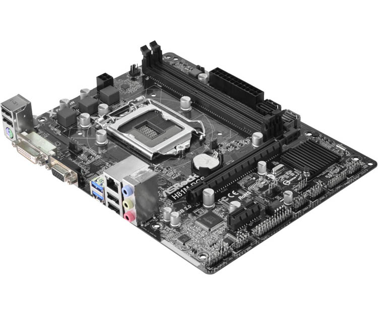 Used original motherboards for ASRock H81M-DGS all solid   LGA1150 USB 3.0 H81 motherboards