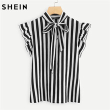 641ec000613a Women Elegant Blouses Black and White - Compra lotes baratos de ...
